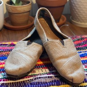 Toms Twill/Canvas Slip-Ons